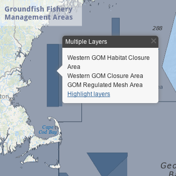 Groundfish Fishery Management Areas