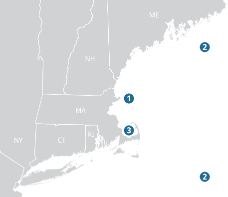 Map of Case Study Locations