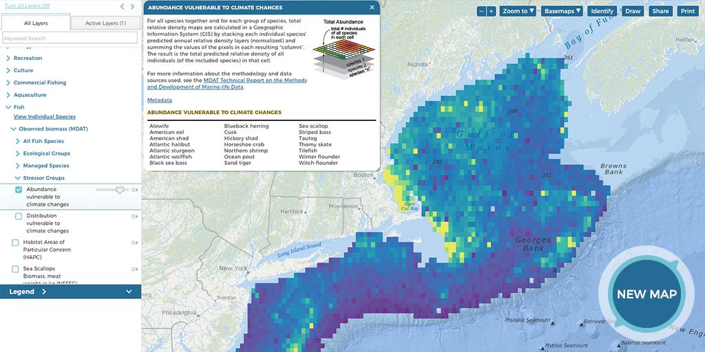 Screenshot of Fish Map