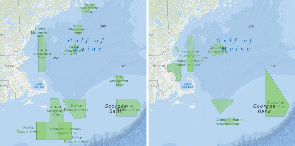 Fishery Management Areas Northeast Ocean Data Portal