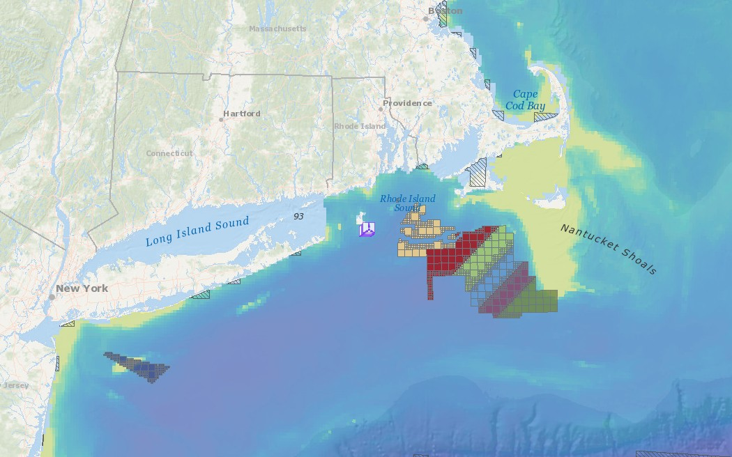 Offshore Wind Lease Areas, Operational Installations & Abundance of Birds with Higher Sensitivity to Collision with Offshore Wind Farms