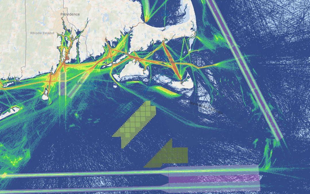 Vineyard Wind 1 Draft Environmental Impact Statement (DEIS) – Shipping Lanes & All Vessel Transit Counts (2017)