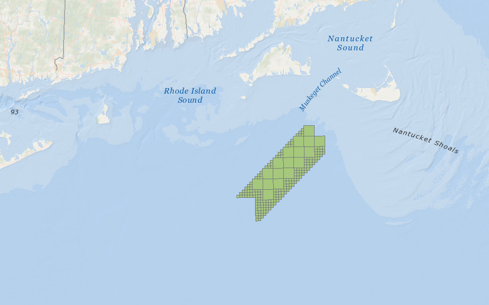 Offshore Wind Lease Area OCS-A 0501 (Vineyard Wind LLC)