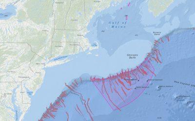 NEFMC Omnibus Deep-Sea Coral Amendment Areas with Deep-Sea Canyons