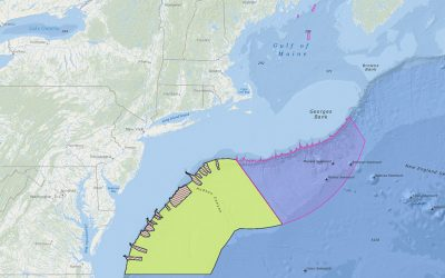 NEFMC Deep-Sea Coral Amendment Areas with Lautenberg Deep-Sea Coral Protection Area